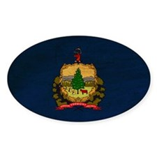 Vermont Flag Decal
