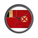 Wallis and Futuna Flag Wall Clock