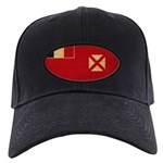 Wallis and Futuna Flag Black Cap