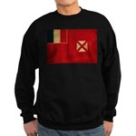 Wallis and Futuna Flag Sweatshirt (dark)