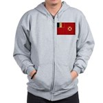 Wallis and Futuna Flag Zip Hoodie