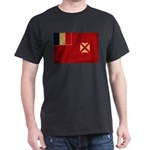 Wallis and Futuna Flag Dark T-Shirt