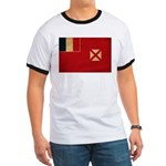 Wallis and Futuna Flag Ringer T