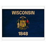 Wisconsin Flag Small Poster