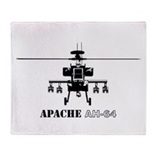 Apache AH-64D Throw Blanket