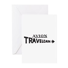 Early Travelcade Logo Greeting Cards (Pk of 20)