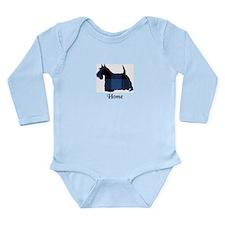 Terrier - Home Long Sleeve Infant Bodysuit