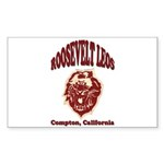 Roosevelt Leos Sticker (Rectangle 10 pk)