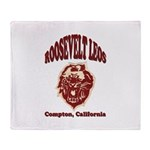 Roosevelt Leos Throw Blanket