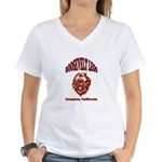Roosevelt Leos Women's V-Neck T-Shirt