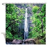 Hanakapiai Falls Hawaii Shower Curtain