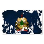 Vermont Flag Sticker (Rectangle 50 pk)