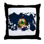 Vermont Flag Throw Pillow