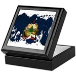 Vermont Flag Keepsake Box