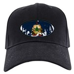 Vermont Flag Black Cap