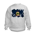 Vermont Flag Kids Sweatshirt