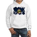 Vermont Flag Hooded Sweatshirt