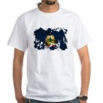 Vermont Flag White T-Shirt