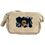Vermont Flag Messenger Bag