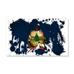 Vermont Flag Car Magnet 20 x 12