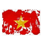 Vietnam Flag Postcards (Package of 8)