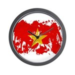 Vietnam Flag Wall Clock