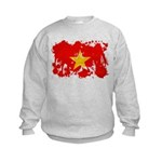 Vietnam Flag Kids Sweatshirt