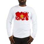 Vietnam Flag Long Sleeve T-Shirt