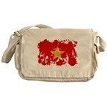 Vietnam Flag Messenger Bag