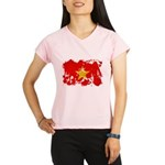 Vietnam Flag Performance Dry T-Shirt
