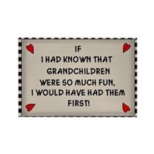 Grandchildren Rectangle Magnet