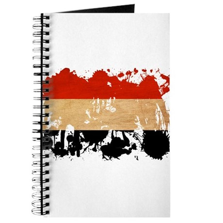 Yemen Flag Journal