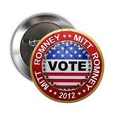 "Vote Mitt Romney for president 2012 2.25"" Button ("