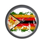 Zimbabwe Flag Wall Clock