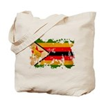 Zimbabwe Flag Tote Bag