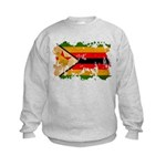 Zimbabwe Flag Kids Sweatshirt