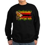 Zimbabwe Flag Sweatshirt (dark)