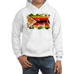 Zimbabwe Flag Hooded Sweatshirt