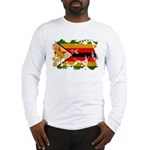 Zimbabwe Flag Long Sleeve T-Shirt
