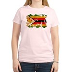 Zimbabwe Flag Women's Light T-Shirt