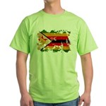 Zimbabwe Flag Green T-Shirt