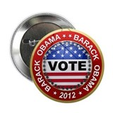 "Vote Barack Obama for president 2.25"" Button (100"