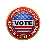 "Vote Barack Obama for president 3.5"" Button"
