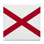 Alabama Flag Tile Coaster