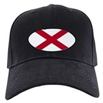 Alabama Flag Black Cap
