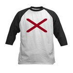 Alabama Flag Kids Baseball Jersey