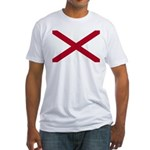 Alabama Flag Fitted T-Shirt