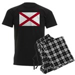 Alabama Flag Men's Dark Pajamas