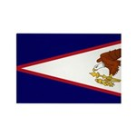 American Samoa Flag Rectangle Magnet (100 pack)