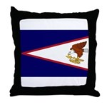 American Samoa Flag Throw Pillow